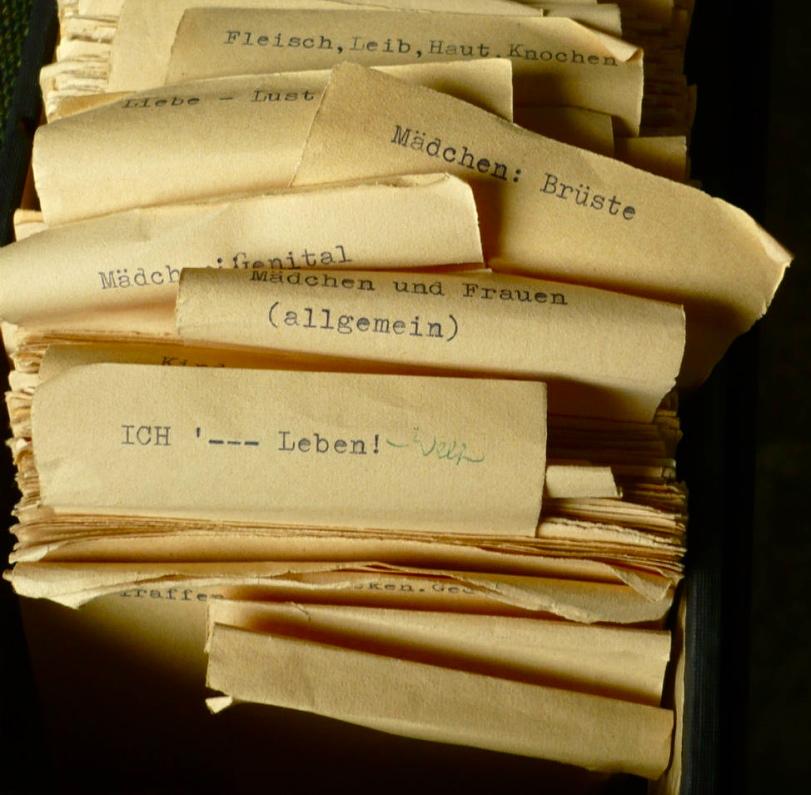Zettelwahnsinn im Kasten