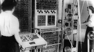 """""""Colussus"""", im britischen Dechiffrierzentrum in Bletchley Park während des Zweiten Weltkriegs gebaut"""